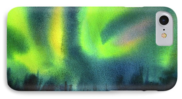 Northern Lights 3 IPhone Case by Kathy Braud