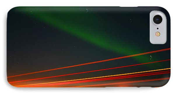 Northern Lights IPhone Case by Anthony Jones