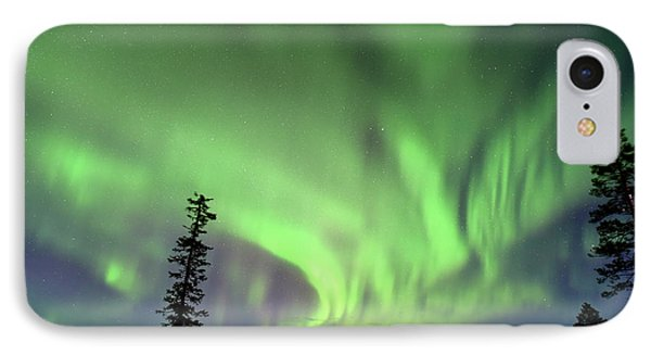 Northern Lights IPhone Case by Edwin Verin