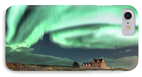 Northern Lights IPhone Case by Frodi Brinks
