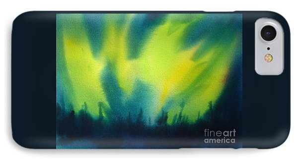 Northern Lights I Phone Case by Kathy Braud