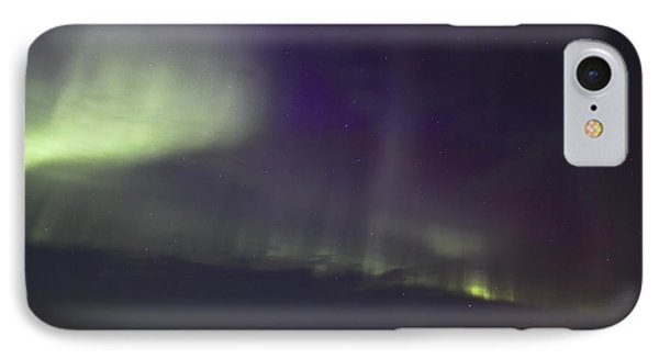 IPhone Case featuring the photograph Northern Lights Near Yorkton by Ryan Crouse
