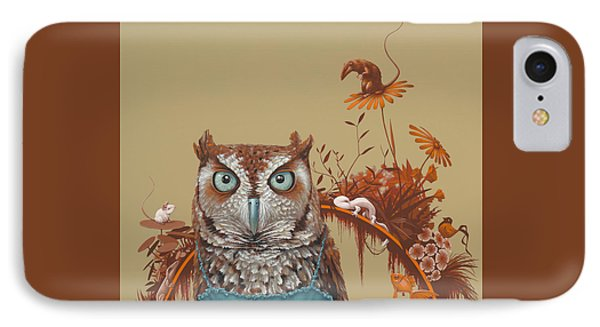Northern Screech Owl IPhone Case