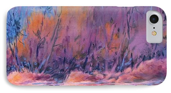 Northern Woods, No 6 IPhone Case by Virgil Carter