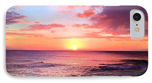 Northshore Sunset IPhone Case by Kristine Merc