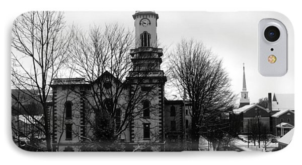 Northumberland County Courthouse Sunbury Pennsylvania  IPhone Case by George Jones