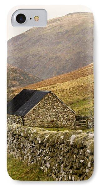 Northumberland, England Stone House Phone Case by John Short