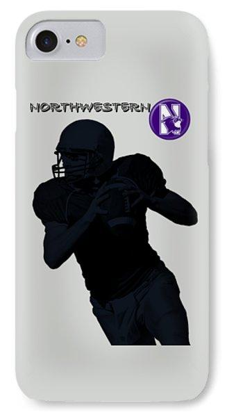 Northwestern Football Phone Case by David Dehner
