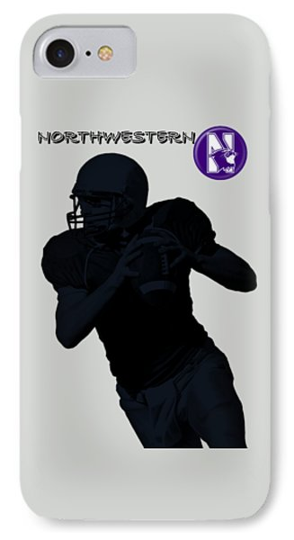 Northwestern Football IPhone Case by David Dehner