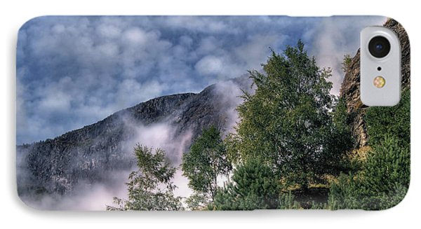 Norway Mountainside IPhone Case by Jim Hill