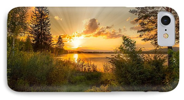 Norwegian Landscape IPhone Case by Rose-Maries Pictures