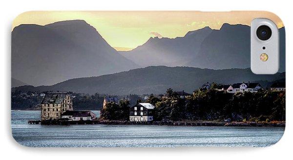 Norwegian Sunrise IPhone Case by Jim Hill