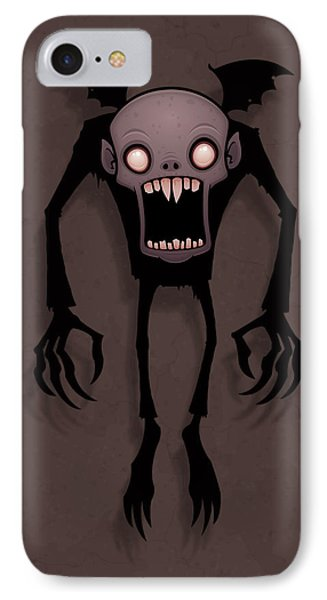 Nosferatu IPhone Case by John Schwegel