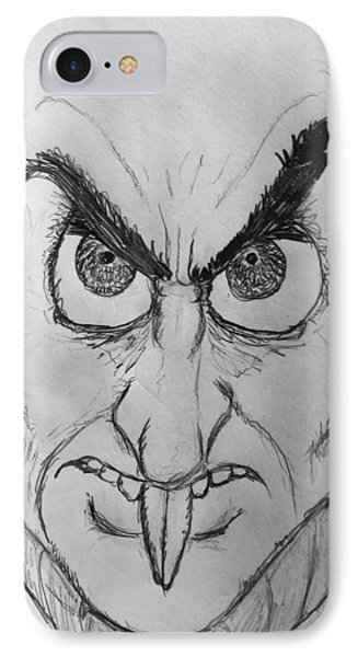 Nosferatu IPhone Case by Yshua The Painter