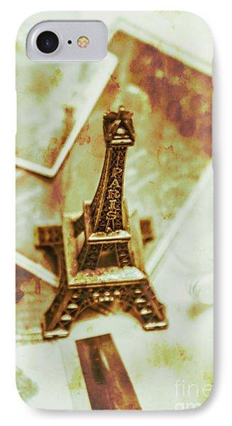 Nostalgic Mementos Of A Paris Trip IPhone Case by Jorgo Photography - Wall Art Gallery