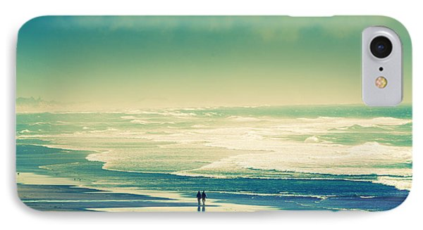 Nostalgic Oceanside Oregon Coast IPhone Case by Amyn Nasser
