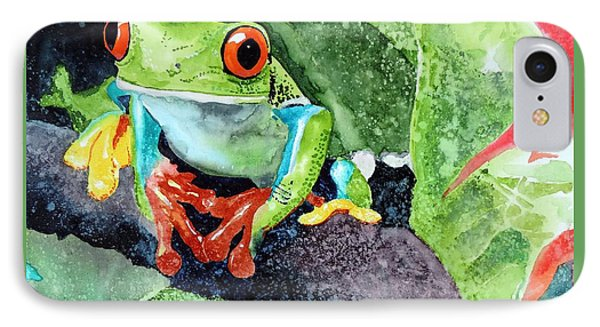 Not Kermit IPhone Case by Tom Riggs