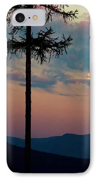 Not Quite Clearcut IPhone Case by Albert Seger