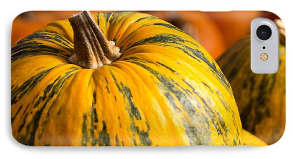 IPhone Case featuring the photograph Not Your Average Pumpkin by Dick Botkin