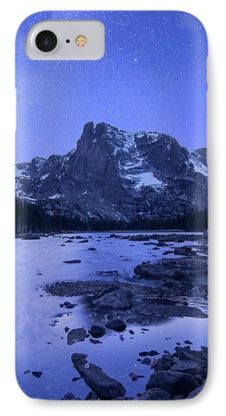 IPhone Case featuring the photograph Notchtop Night Vertical by Aaron Spong