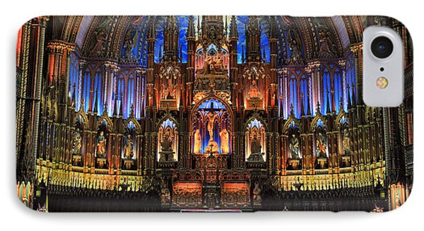 Notre Dame Basilica Montreal City Phone Case by Pierre Leclerc Photography