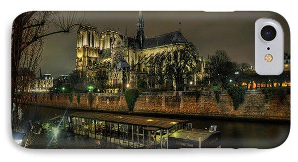 Notre Dame Cathedral Paris 1.0 IPhone Case by Yhun Suarez
