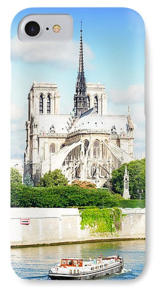 Notre Dame Cathedral, Paris France IPhone Case by Anastasy Yarmolovich