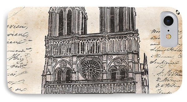Notre Dame De Paris IPhone Case by Debbie DeWitt