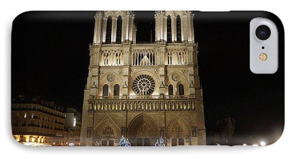 Notre Dame De Paris Phone Case by Erik Tanghe