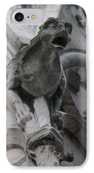 Notre Dame Gargoyle Grotesque IPhone Case