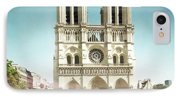 IPhone Case featuring the photograph Notre Dame by Hannes Cmarits