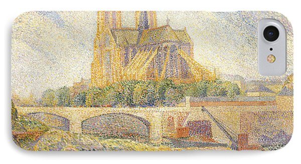 Notre Dame IPhone Case by Hippolyte Petitjean
