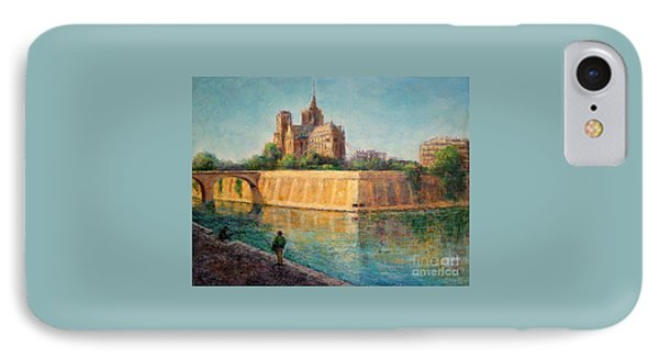 Notre Dame In Sunshine IPhone Case