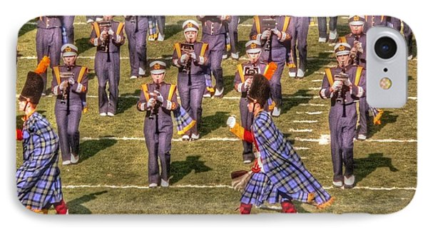 Notre Dame Marching Band Phone Case by David Bearden