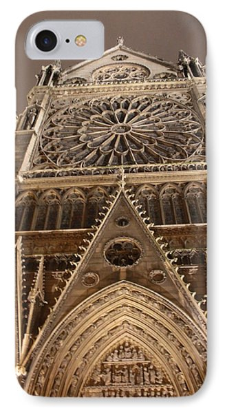 IPhone Case featuring the photograph Notre Dame North by Christopher Kirby