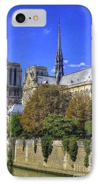Notre Dame, Paris IPhone Case by Juli Scalzi