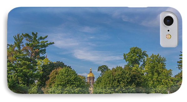 IPhone Case featuring the photograph Notre Dame University 6 by David Haskett