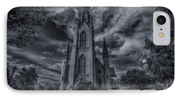 Notre Dame University Church IPhone 7 Case by David Haskett