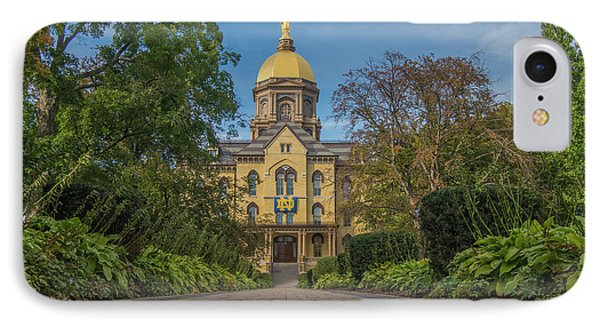 Notre Dame University Q IPhone 7 Case by David Haskett