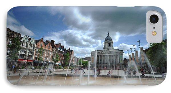 Nottingham Town Hall 2.0 IPhone Case by Yhun Suarez