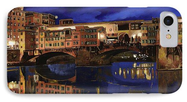 Dawn iPhone 7 Case - Notturno Fiorentino by Guido Borelli