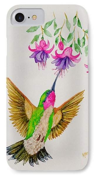 IPhone Case featuring the painting Nourishment  by Katherine Young-Beck