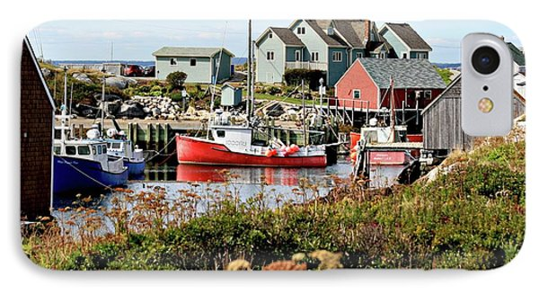 IPhone Case featuring the photograph Nova Scotia Fishing Community by Jerry Battle