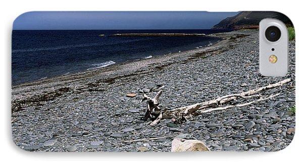 Nova Scotia Pebble Beach Phone Case by Sally Weigand