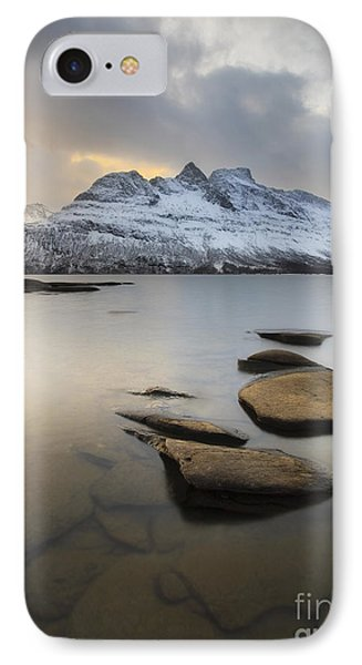 Novatinden Mountain And Skoddeberg Lake IPhone Case