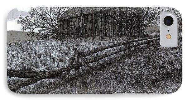 November At The Farm IPhone Case by Jonathan Baldock