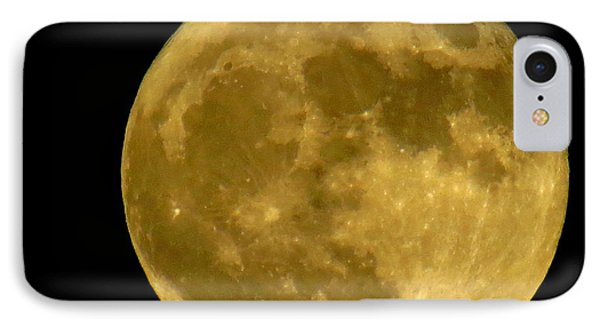 IPhone Case featuring the photograph November Full Moon by Eric Switzer