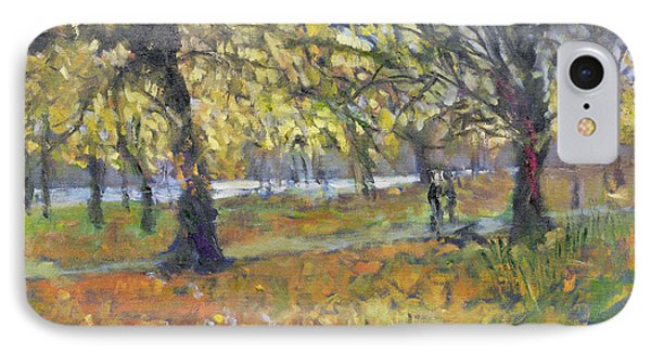 November In Hyde Park IPhone Case by Patricia Espir