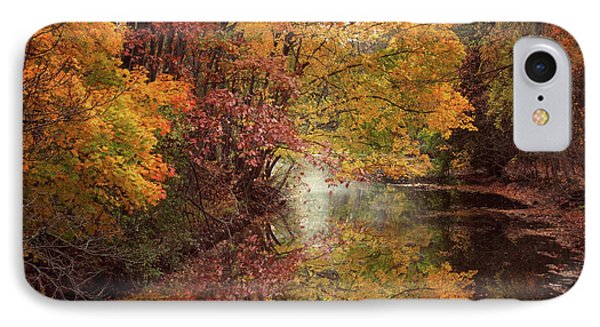 IPhone Case featuring the photograph November Reflections by Jessica Jenney