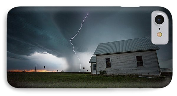 IPhone Case featuring the photograph Nowhere To Run by Aaron J Groen